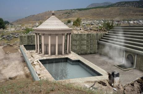 Descubren en Pamukkale (Turquía) la Puerta de Plutón
