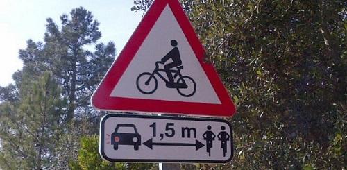 Un ciclista grave tras chocar contra otro en la carretera de Pollen�a-Lluc