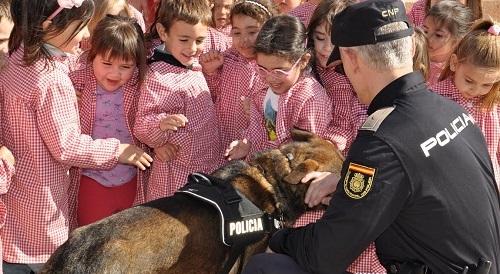 La Policía Nacional inicia en centros educativos las charlas del Plan Director para la Convivencia y Mejora de la Seguridad Escolar