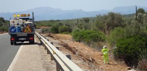 Mallorca será el primer territorio del Estado español en prohibir el uso de herbicidas en el mantenimiento de las carreteras