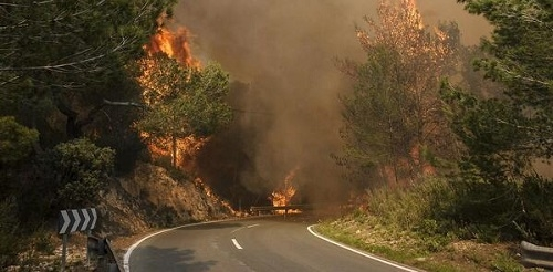 9 imputados y un detenido por realizar incendios forestales en todo 2014