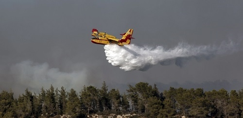 Incendio agrícola en Pollença