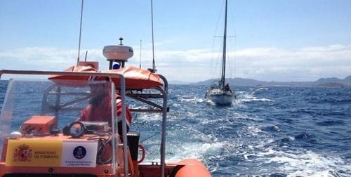 Salvamento Marítimo busca un velero, con dos tripulantes a bordo, que partió el viernes desde Cannes con destino a Palma