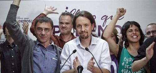 Iglesias dice que no quiere que Catalu�a se independice y arremete contra Mas y Rajoy