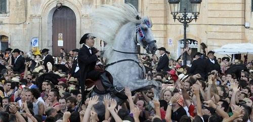 Las fiestas de Sant Joan de Ciutadella sin seguridad privada