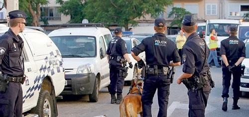 La Policía Nacional detiene al presunto autor de un robo con fuerza que se encontraba fugado