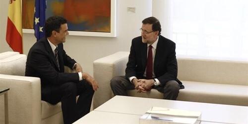 Pedro S�nchez avisa a Rajoy de que sentar� un 'peligroso precedente' si reforma la elecci�n de alcalde sin consenso