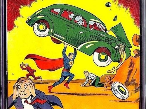El primer c�mic de Superman, vendido por 3,2 millones d�lares
