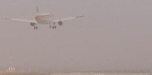 El aeropuerto de Palma de Mallorca registra el desv�o de seis vuelos debido a la niebla