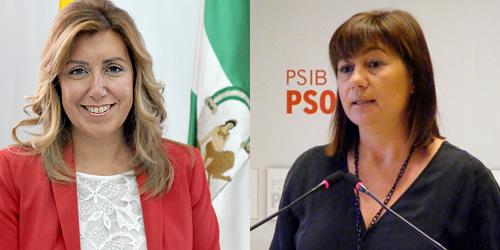 Armengol se reunir� este jueves con Susana D�az en Menorca para hablar sobre las prospecciones petrol�feras