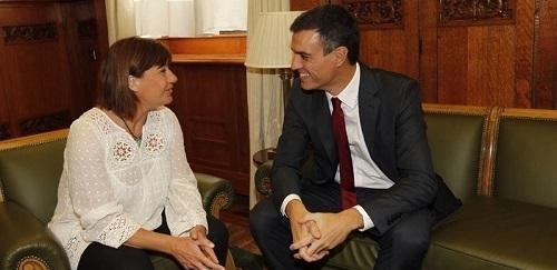 Armengol ve 'lógico' que Pedro Sánchez repita como candidato