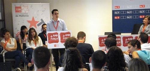 Gabriel De Hevia, nuevo secretario general de las Juventudes Socialistas de Mallorca