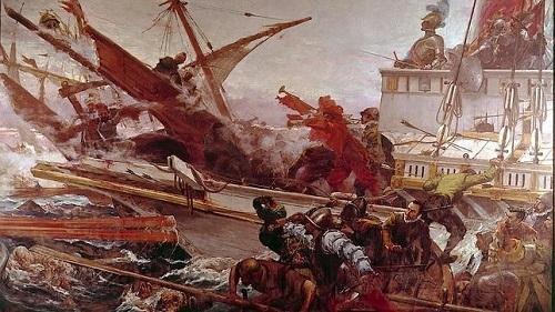 Arque�logos griegos hallan los restos de un barco espa�ol del XVI, posterior a Lepanto