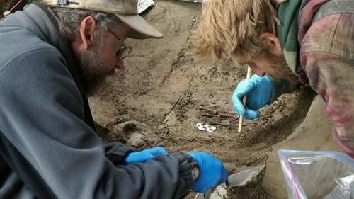 Hallan en Alaska restos de ni�os de la Edad del H�elo