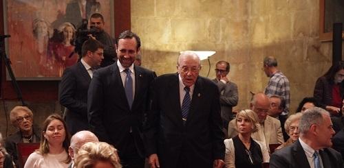 Bauz� cree que la Memoria del Any Jun�per Serra 'culmina el homenaje que la sociedad rindi�' a esta figura