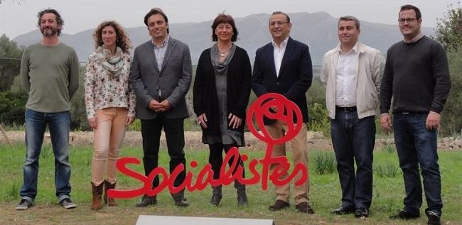 El PSIB presenta sus candidatos para 'hacer realidad el cambio que necesita Baleares'