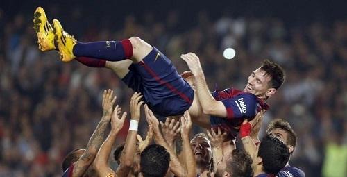 Messi, m�ximo goleador de la historia de la Liga