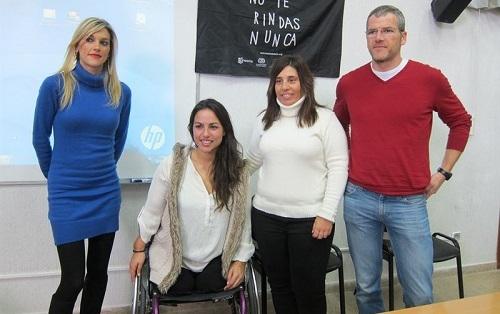 Lorena Homar, exnadadora paral�mpica: 'Cada vez hay m�s gente dispuesta a contratar a personas con discapacidad'
