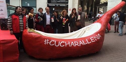 'Esta Navidad, todos con la cuchara llena', el lema de la campa�a solidaria de comercios de Sindicato