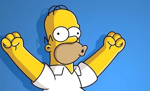 Los Simpson cumplen 25 a�os