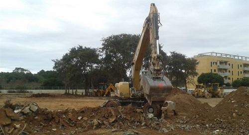 Arrancan las obras del nuevo centro deportivo de Cala Millor