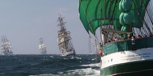 Ma� acoger� en 2016 la regata de veleros de �poca 'Tall Ship Races'