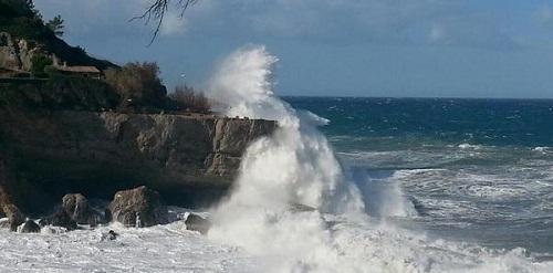 Mallorca y Menorca están en aviso amarillo por fenómenos costeros