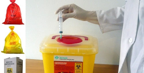 Recogida de residuos hospitalarios