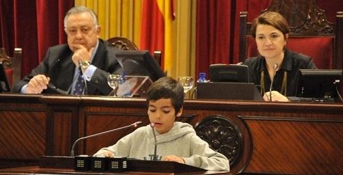 Escolares de Baleares serán este jueves diputados por un día en el Parlament