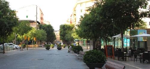 Cort aprueba una suspensión de un año de nuevas terrazas en Blanquerna y Santa Catalina