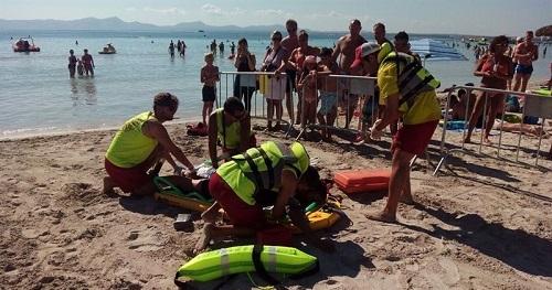 Siete personas murieron en agosto ahogadas en espacios acu�ticos de Baleares