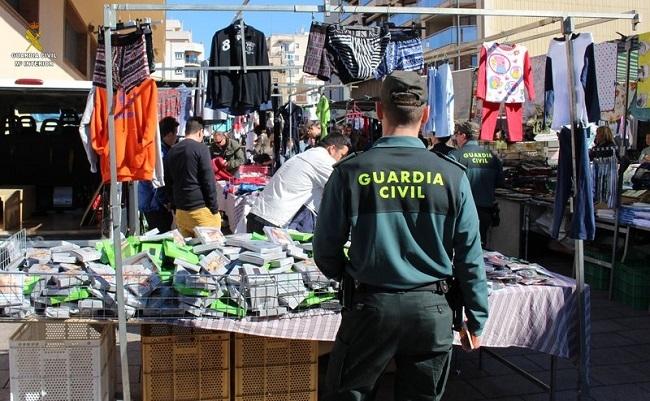 Detenidos doce miembros de un grupo criminal especializado en hurtos en mercadillos de Mallorca