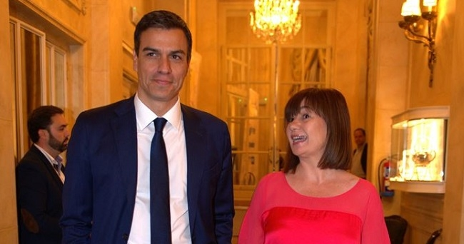 Armengol reivindica en Madrid una nueva financiación ante la 'discriminación' de los ciudadanos de Baleares