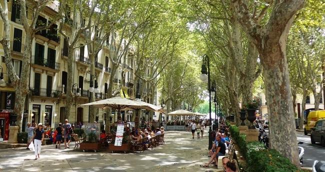 Las ventas en Palma disminuyen un 25% este mes de mayo