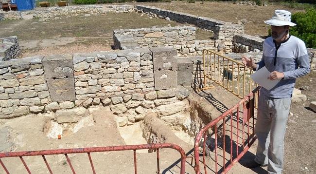 La XIII campaña de excavaciones en Son Peretó corrobora la gran importancia del yacimiento paleocristiano que rodea la basílica