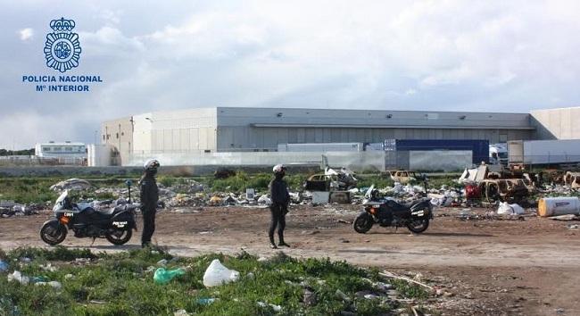 La Policía Nacional desarticula nueve puntos de venta de sustancia estupefaciente en el poblado de Son Banya