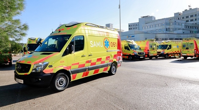 Gómez considera 'muy positiva' la gestión pública del servicio de transporte sanitario