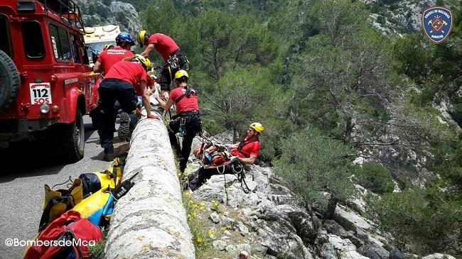 Fallece un  excursionista americano que cayó sobre las rocas en Deià