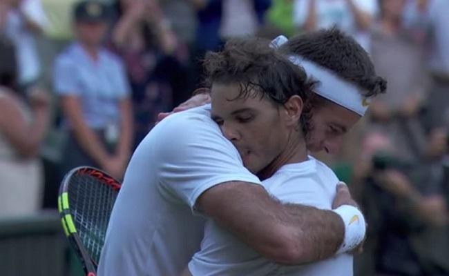 Nadal derrota a Del Potro en cinco sets y regala otro capítulo de épica a Wimbledon