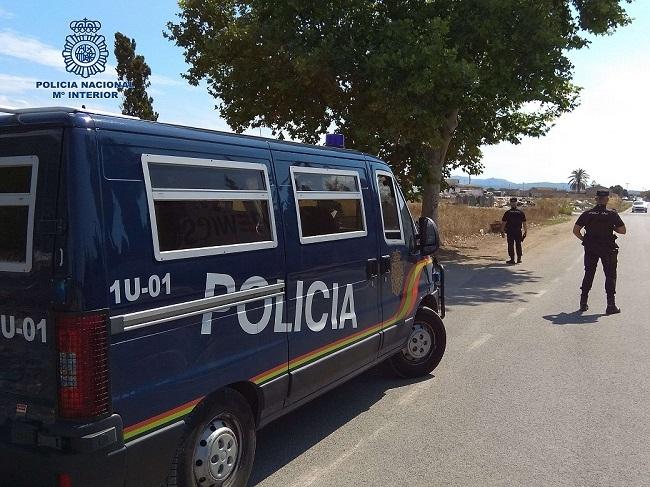 La Policía Nacional desarticula un grupo organizado dedicado a robos en supermercados