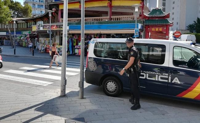La Policía Nacional detiene a cinco menores tras agredir a un hombre para robarle la cartera