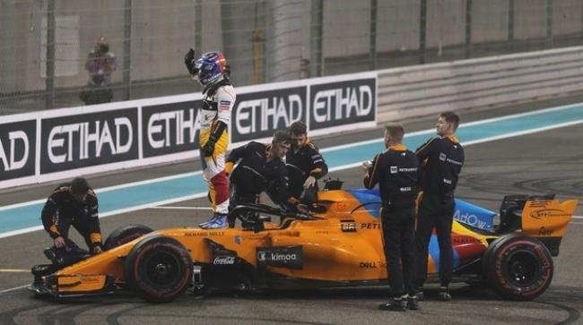 Emocionante adiós de la Fórmula 1 a Fernando Alonso
