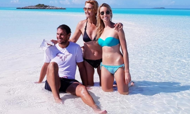 Rafa Nadal de vacaciones en las Bahamas