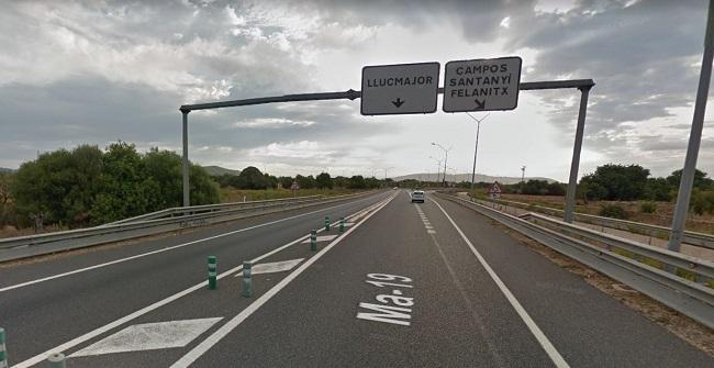 Terraferida: La siniestralidad en la autopista de Llucmajor a Palma triplica la de la carretera Llucmajor-Campos