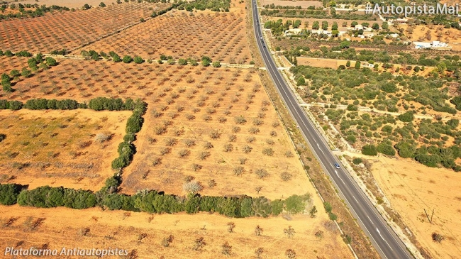 Terraferida cree que el anuncio de reducción del impacto de la autopista es un engaño a la ciudadanía