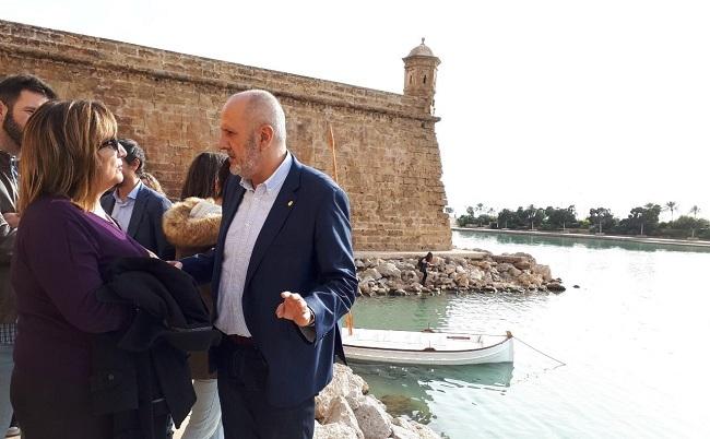 Ensenyat presenta el proyecto del Museu Marítim de Mallorca