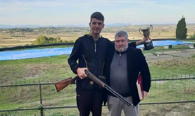 Miquel Riera Clar campeón de Baleares de tiro de helices