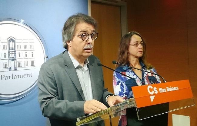 Cs Baleares critica la reiterada ausencia de representantes del Govern en la celebración de la Pascua Militar