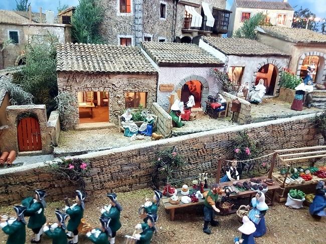 El Centro de Cultura la Misercòrdia acoge hasta el 6 de enero el tradicional Belén Mallorquín