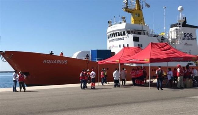 El Aquarius se ve obligado a concluir sus operaciones de salvamento en el Mediterráneo central